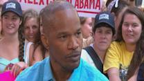 Jamie Foxx on Obama's Influence on Presidential Character