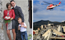 Young couple and their seven-year-old son named among 38 killed in Genoa bridge collapse