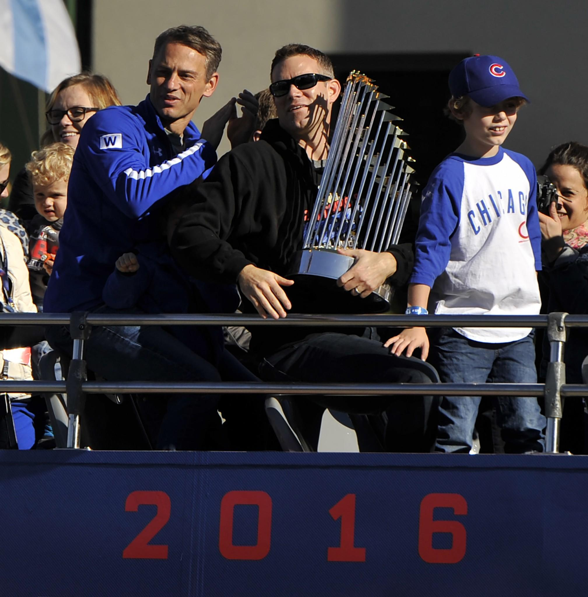 Chicago Cubs World Series Championship Parade Slideshow