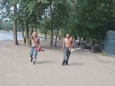 Chainsaw-wielding men covered in blood arrested on Toronto beach