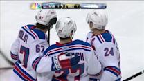 Rangers score twice in 82 seconds