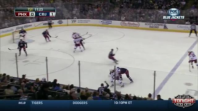 Phoenix Coyotes at Columbus Blue Jackets - 04/08/2014