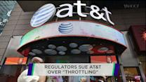 "AT&T sued over ""throttling"""