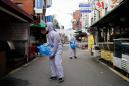 South Korea reports 594 new coronavirus infections for total of 2,931