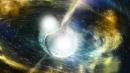 In A First, Scientists Spot Light Amid Gravitational Waves Emitted By Colliding Stars