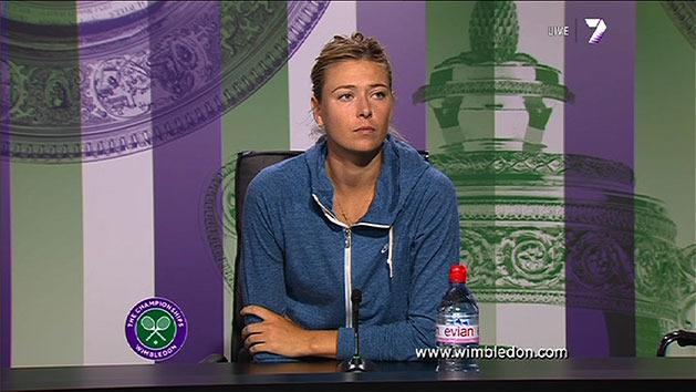 Post Match Interview: Maria Sharapova