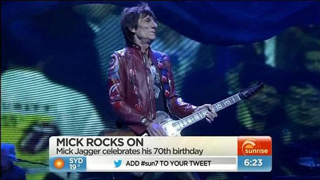 Mick Jagger turns 70