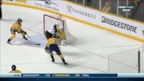 Selanne scores after no-look backhanded pass