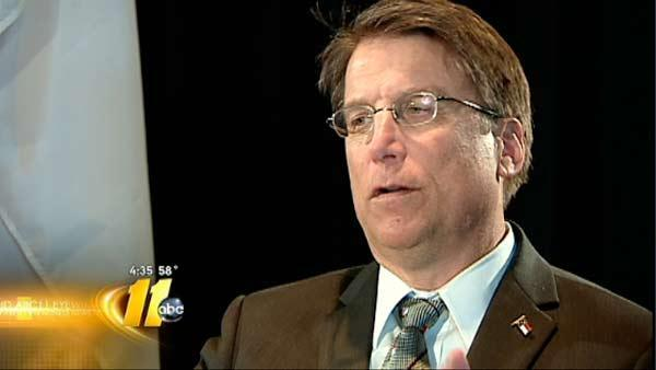 McCrory explains position on Medicaid