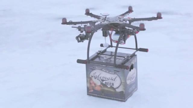 FAA Grounds Drone Beer Delivery Service
