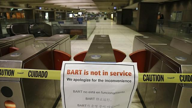 Contract glitch could stall BART contract
