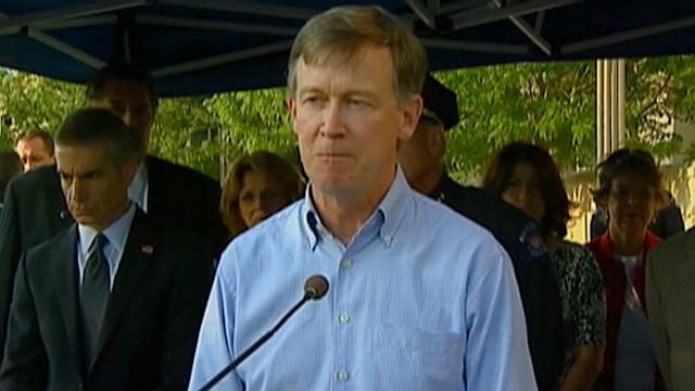 Colorado Shooting: Gov John Hickenlooper