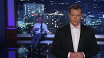 Jimmy Kimmel Tied Up While Matt Damon Hosts