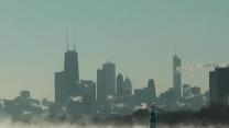 Raw: 'Polar Vortex' Grips Chicago