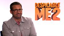 """Despicable Me 2's Steve Carell Tells Us How He Created His Character's """"Terrible Accent"""""""