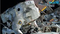 Astronauts Finish 5-hour Spacewalk Despite Water Found in Helmet