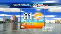 First Alert Forecast: Sandra says an 'awesome' day ahead