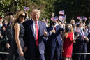 The Latest: Trump seems confident court to end 'Obamacare'