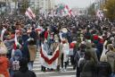 Strikers in Belarus press for authoritarian leader's ouster