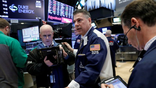 Nike, Facebook lead Wall Street higher at the open