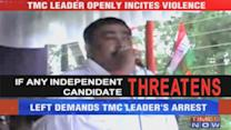 TMC leader openly incites violence