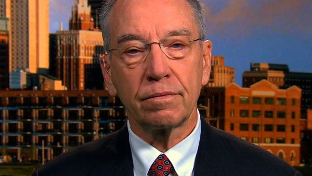 Grassley leads call for separate Secret Service investigation
