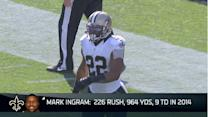 New Orleans Saints hopeful running back Mark Ingram will return