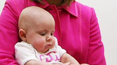 Baby Thriving After Partial In-Womb Surgery
