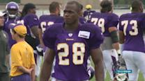 NIKE SUSPENDS ADRIAN PETERSON'S CONTRACT