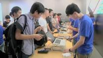 China sales drive strong Apple results