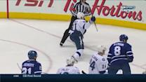 Stamkos nets natural hat trick on Maple Leafs