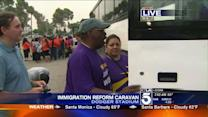 Immigration Reform Supporters Plan Caravan to Bakersfield