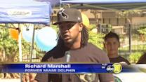 Former Bulldog & NFL player gives back