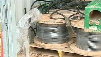 Copper Thieves Strike Same Place Twice