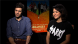 Adam Brody and Alia Shawkat on The Oranges and Awkward Family Moments
