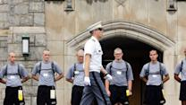 Band of Texas Brothers Arrives at West Point