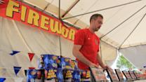 Firework Hazards During Drought