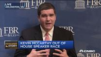 McCarthy quit good for markets short term: Pro