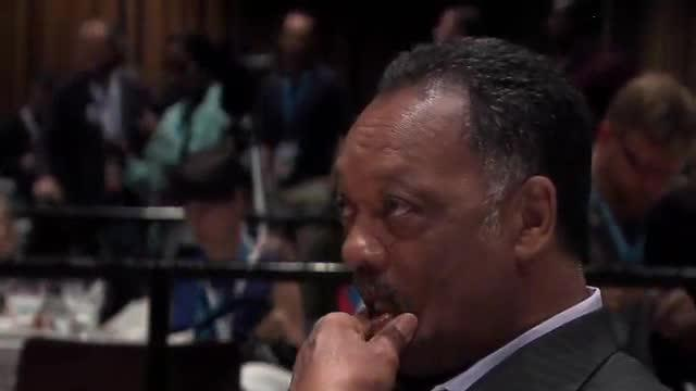 Jesse Jackson appearance at Ohio Delegation Breakfast 9/6