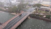 Hailstorms batter Queensland