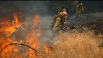 Rapidly Growing Wildfires Force Residents to Evacuate