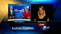 Illegal chemical dumping investigation