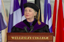 Hillary Clinton's commencement speech was a master class in Trump shade