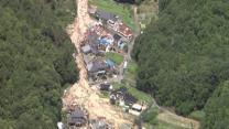 Raw: Rescue, Relief Efforts at Japan Landslide