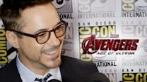"Robert Downey Jr ""Avengers: Age of Ultron"" Interview - Comic-Con 2014"
