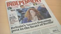 Report says UK operates 'electronic spy posts' in Germany