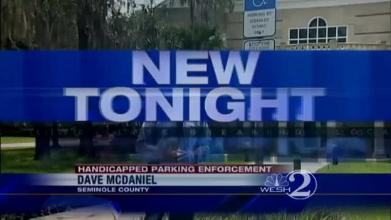 Police enforce handicapped parking with tickets