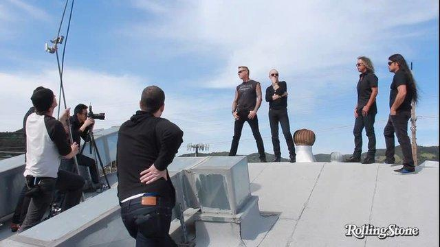 Metallica: Behind the Scenes of the Big Issue Cover Shoot