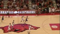 Arkansas behind-the-back alley-oop