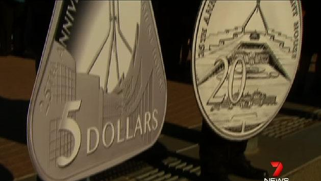 Triangle coin to celebrate parliament house